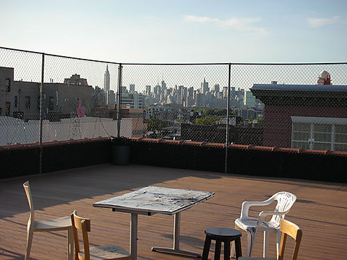 The view from my NY rooftop
