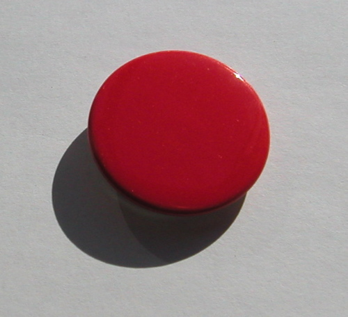 A different kind of red button