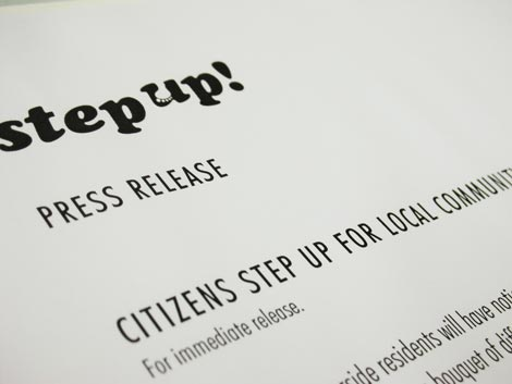 Step Up press release