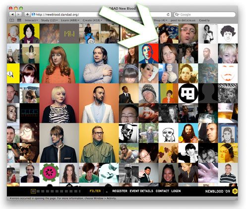 My picture on the D&AD website