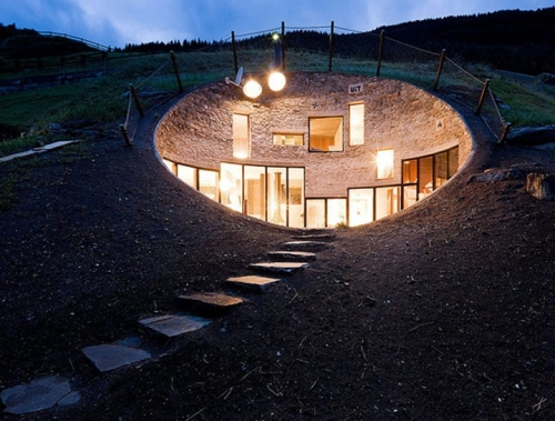 SeARCH and Christian Muller Architects - Underground House