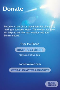 Donate to the Conservatives