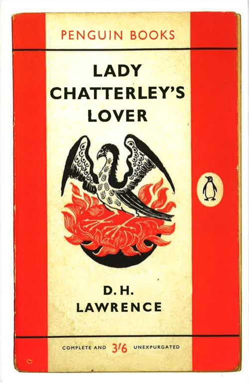 Penguin cover of Lady Chatterley's Lover