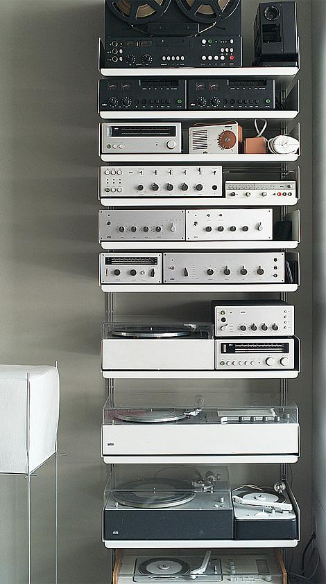 Dieter Rams hi-fi equipment